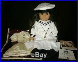 Pleasant Company Doll Samantha White Body & Outfits & Bags Boxes Vintage 1980s