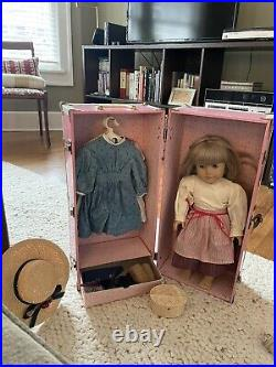 Pleasant Company Kirsten Doll With Clothes, Accessories, And Carrying Case