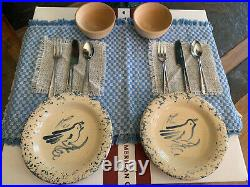 Pleasant Company Kirsten Pottery Set 1990 Partial Vintage American Girl