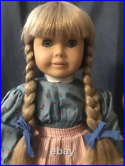 Pleasant Company Rare White Body Kirsten with Tinsel Hair American Girl