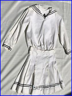 Pleasant Company SAMANTHA'S MIDDY OUTFIT for GIRLS SIZE 8