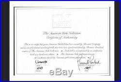 Pleasant Company Signed Samantha #2343 American Girl doll, 1987, + Extras, COA