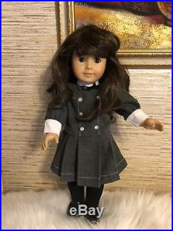 Pleasant Company Vintage American Girl Doll White Body Samantha