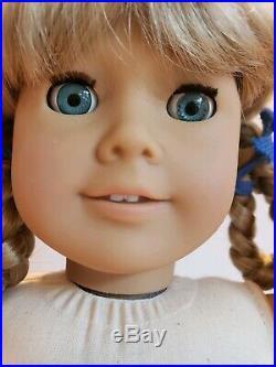 Pleasant Company White Body 1986 Kirsten Doll Original Box American Girl