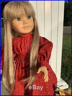 Pleasant Company White Body Kirsten 18 Doll Tinsel Hair American Girl Box LOT