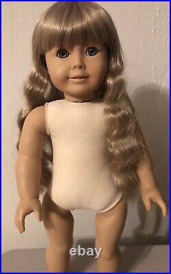 Pleasant Company White Body Kirsten Doll American Girl