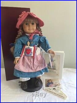 Pleasant Company White Body Kirsten Doll With Box And Outfit