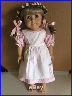Pleasant Company White Body Kirsten Larson Doll In Birthday Outfit American Girl