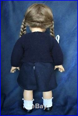 Pleasant Company White Body Molly Vintage American Girl Doll