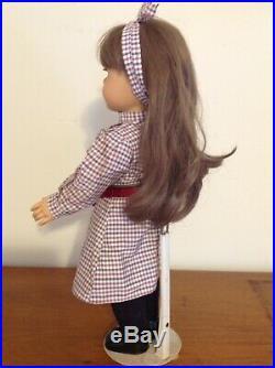 Pre-1991 American Girl Samantha Doll White Body Original Pleasant Company