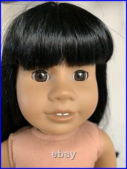 RARE #11 JLY American Girl Doll, Black Hair With Bangs, Brown Eyes, Addy Face Mold