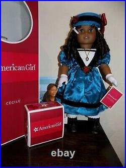 RARE American Girl Cecile NEVER USED COLLECTOR'S DOLL MINT in Box. Accessories