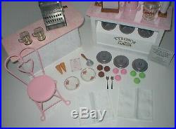 RARE American Girl SAMANTHA'S ICE CREAM PARLOR for 18 Dolls BKD53 25 + Pieces