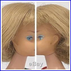 RARE Vintage Barbie American Girl Silver Ash Blonde Long Hair Dancing Doll OSS