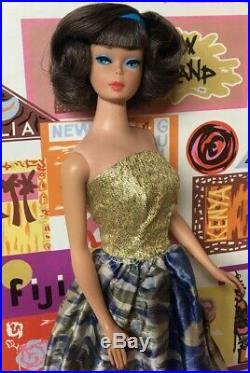 (RESERVED) Yes it's Vintage! American Girl Ash Brunette Side Part Barbie Doll