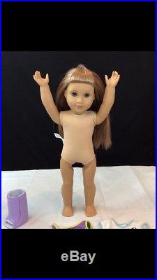 RETIRED American Girl Doll McKenna with Gymnastics Outfit, Leotard & Leg Cast #810