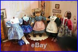 RETIRED PRE-MATTEL American Girl Doll Kirsten & Classic Wardrobe, EUC! Gorgeous