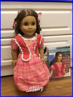 Rare American Girl Doll of History Marie Grace in excellent displayed condition