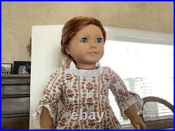 Rare Pleasant Company American Girl Felicity Dreamer Eyes Tan Body Doll