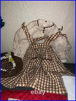 Retired Addy American Girl Doll + 4 Outfits & Accessories 1993 Pleasant Company
