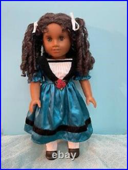 Retired American Girl Cecile Doll in Box with Accessories, Book