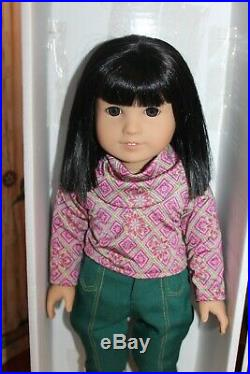 Retired American Girl Doll Ivy NIB, 18, Boots, Removed But Never Used