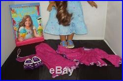 Retired American Girl Doll Kanani GOTY 2011 Meet Outfit Plus Extras