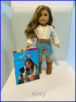 Retired American Girl Doll of the Year 2007 Nicki Fleming with Complete Meet Out