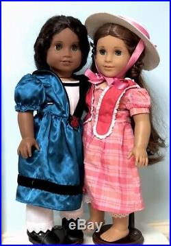 Retired American Girls Marie Grace and Cecile Doll Bundle + Boxed Book Set