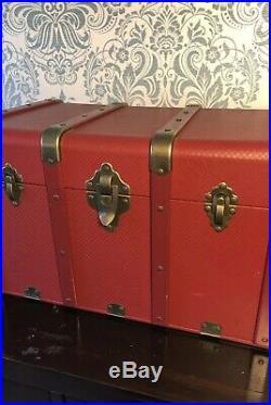 Retired Excellent American Girl Kit Kittredge Storage Dresser Trunk