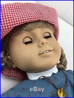 Retired Kirsten Larson American Girl Doll Pleasant Company 1986 Tan Body X02