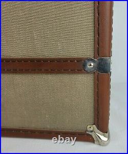 Retired Pleasant Company American Girl Canvas Trunk Wardrobe Closet Case