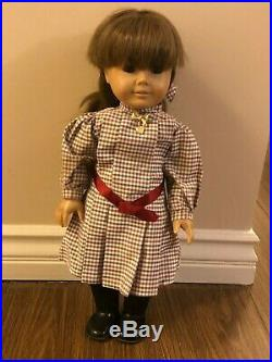 Samantha American Girl (Pleasant Company) Doll With Lot