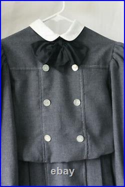 Samantha American Girl Pleasant Company Dress Like Your Doll School Dress sz 12