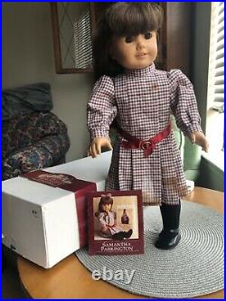 Samantha Original American Girl Doll. Used