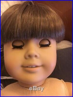 Samantha Pleasant Company doll desk summer amusements tea tin lunchbox art box