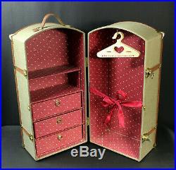 Samantha Steamer Trunk American Girl Doll Pleasant Company Closet Vintage Case