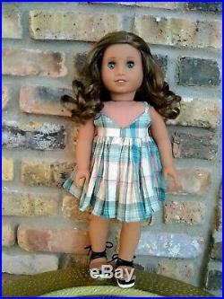 Selah Custom American Girl Doll Aquamarine Marie Grace Eyes Sonali Mold JLY 62