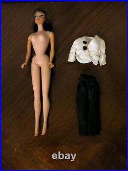 Stunning Vintage Long Hair HIGH Color Brunette American Girl Barbie Doll