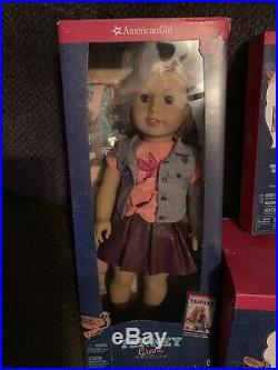 Tenney Grant American Girl Doll With Drums And Guitar