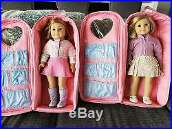 Two American Girl Dolls for sale(with free cases)