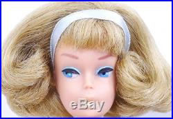 Ultra Rare European Blonde Low Color Side Part American Girl Barbie Doll