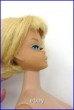 VINTAGE BARBIE 1966 AMERICAN GIRL PALE BLONDE HAIR DOLL #1070 with ORIGINAL OUTFIT