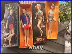 VINTAGE BARBIE MIDGE AMERICAN GIRL DOLL BENDABLE LEGS ORIGINAL BOX TITAN Hair