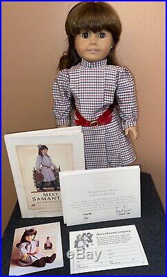Very Rare SIGNED By Pleasant Rowland SAMANTHA Pleasant Company American Girl COA