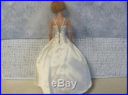 Vintage 1965 Barbie BEAUTIFUL BRIDE on AMERICAN GIRL DOLL COMPLETE