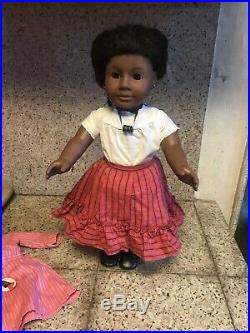 Vintage 1st Edition Pleasant Company ADDY WALKER 18 African American Girl Doll