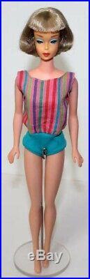 Vintage American Girl Barbie Japanese/Europe doll 1966 hard to find EC
