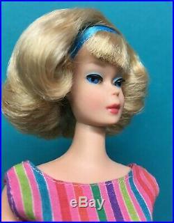 Vintage American Girl Blonde Japanese Side Part Barbie Doll byApril