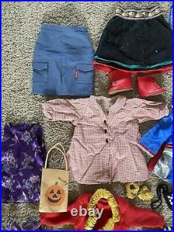 Vintage American Girl Doll Huge Clothes Lot Original Retired Clean Pleasant Co
